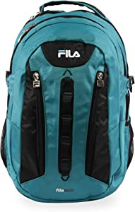 Fila Vertex Tablet and Laptop Backpack, Teal, One Size