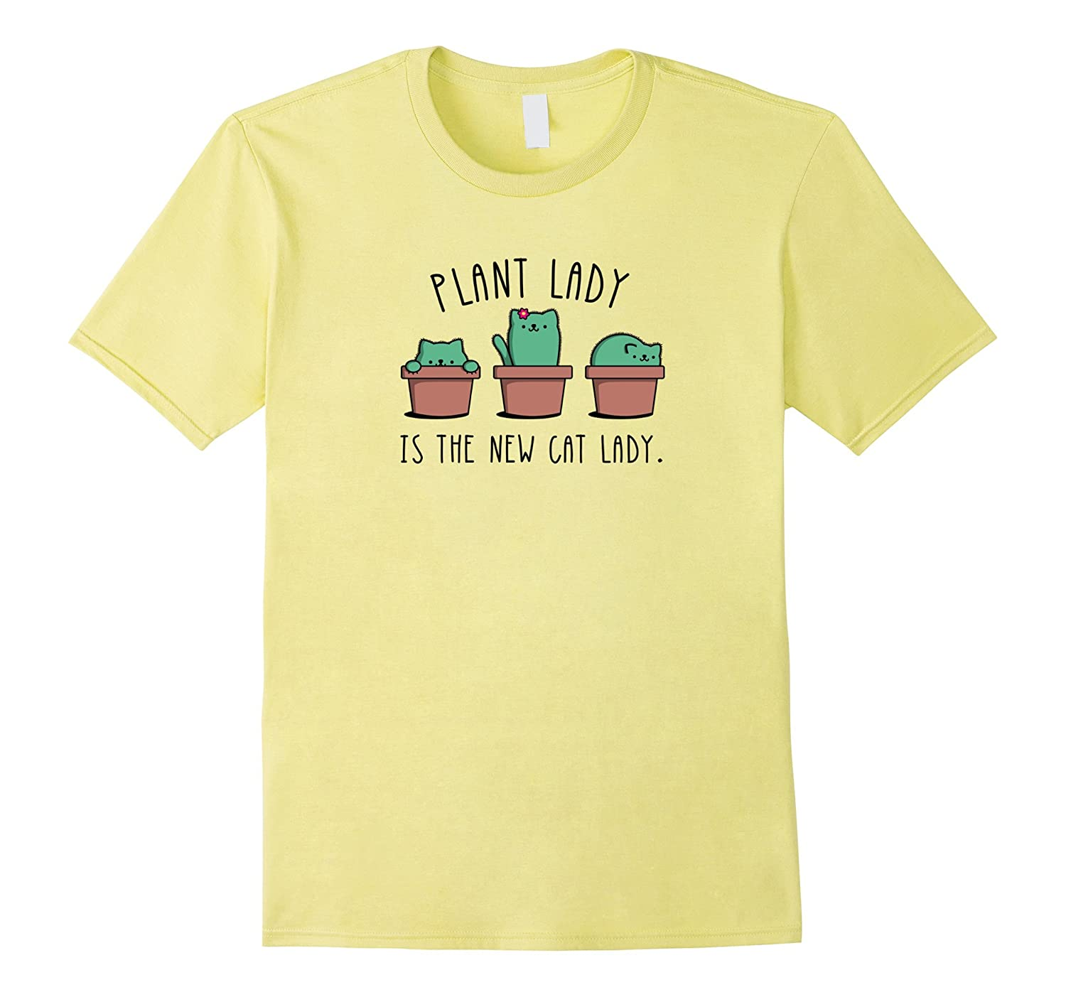 cd026e15 Cactus Garden Funny Plant Cat Lady Shirt Graphic Tee gift-CL – Colamaga