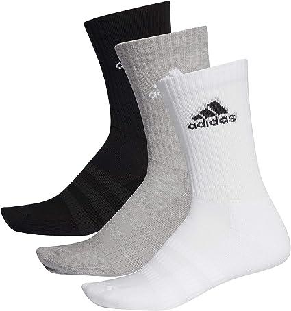9 Paar adidas Crew Sport Socken 3 Paar Weiß + 6 Paar Schwarz