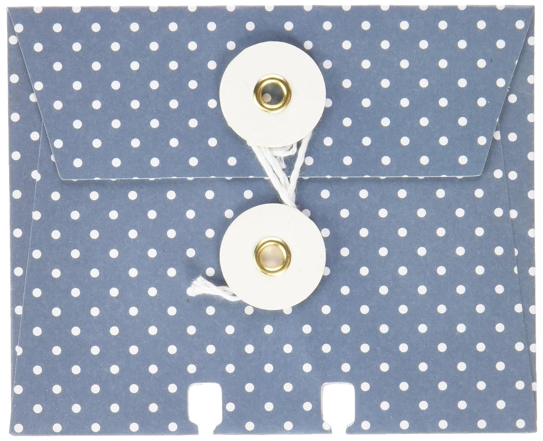 American Crafts 369332 Memorydex 封筒カード 紐付き 6枚パック ワンダーラスト B00THXW270