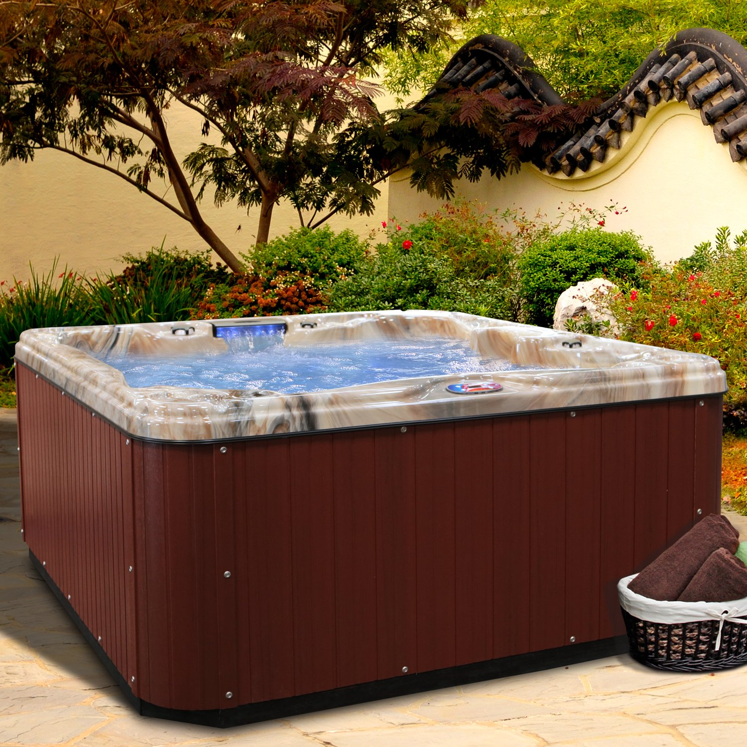 American Spas AM-630LM 5-Person 30-Jet