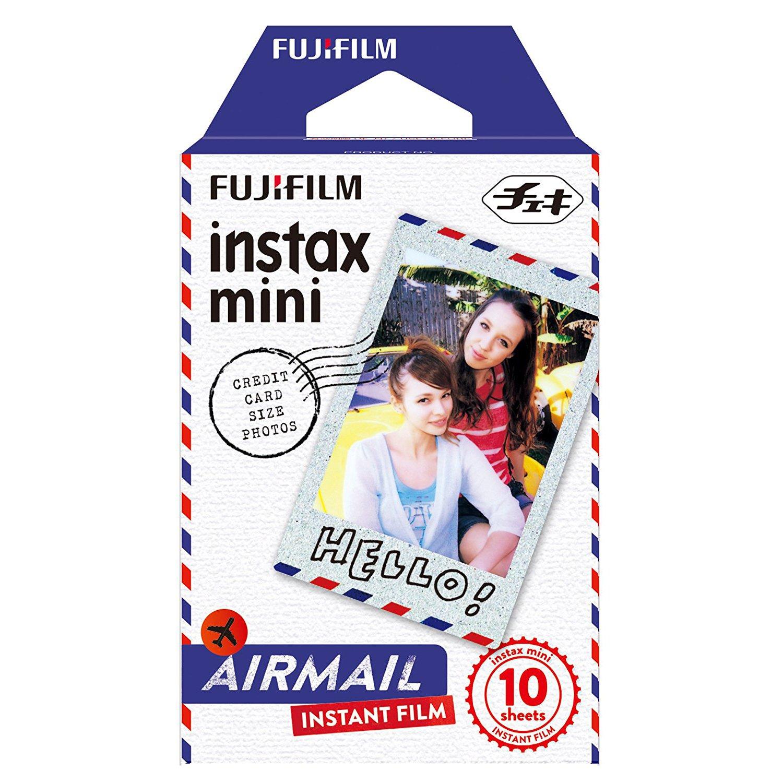 Fujifilm Instax Airmail Film Pack Instant Print Mini Cameras 3 Pack 30 Sheets