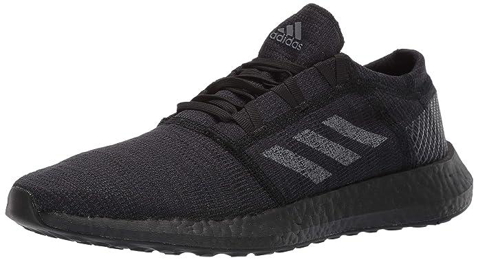 4e272b79c29a4 adidas Men's Pureboost Go, Black/Grey/Carbon, 11.5 M US