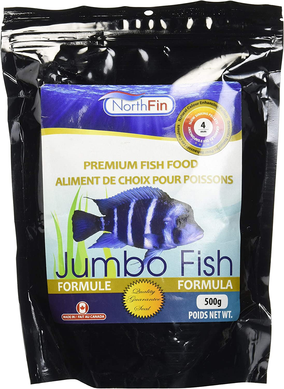 Northfin Food Jumbo Formula 4Mm Pellet 500 Gram Package