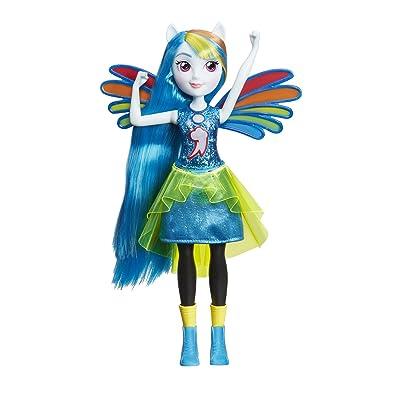 My Little Pony Equestria Girls Rainbow Dash Fashion Dolls: Toys & Games