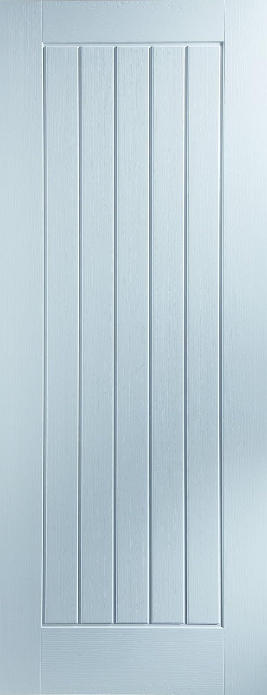 Newark 23NEWA 5-Panel Woodgrain Moulded Internal Door JELD-WEN UK LTD