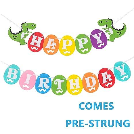 Amazon.com: Huevos de Dinosaurio cumpleaños – fieltro ...