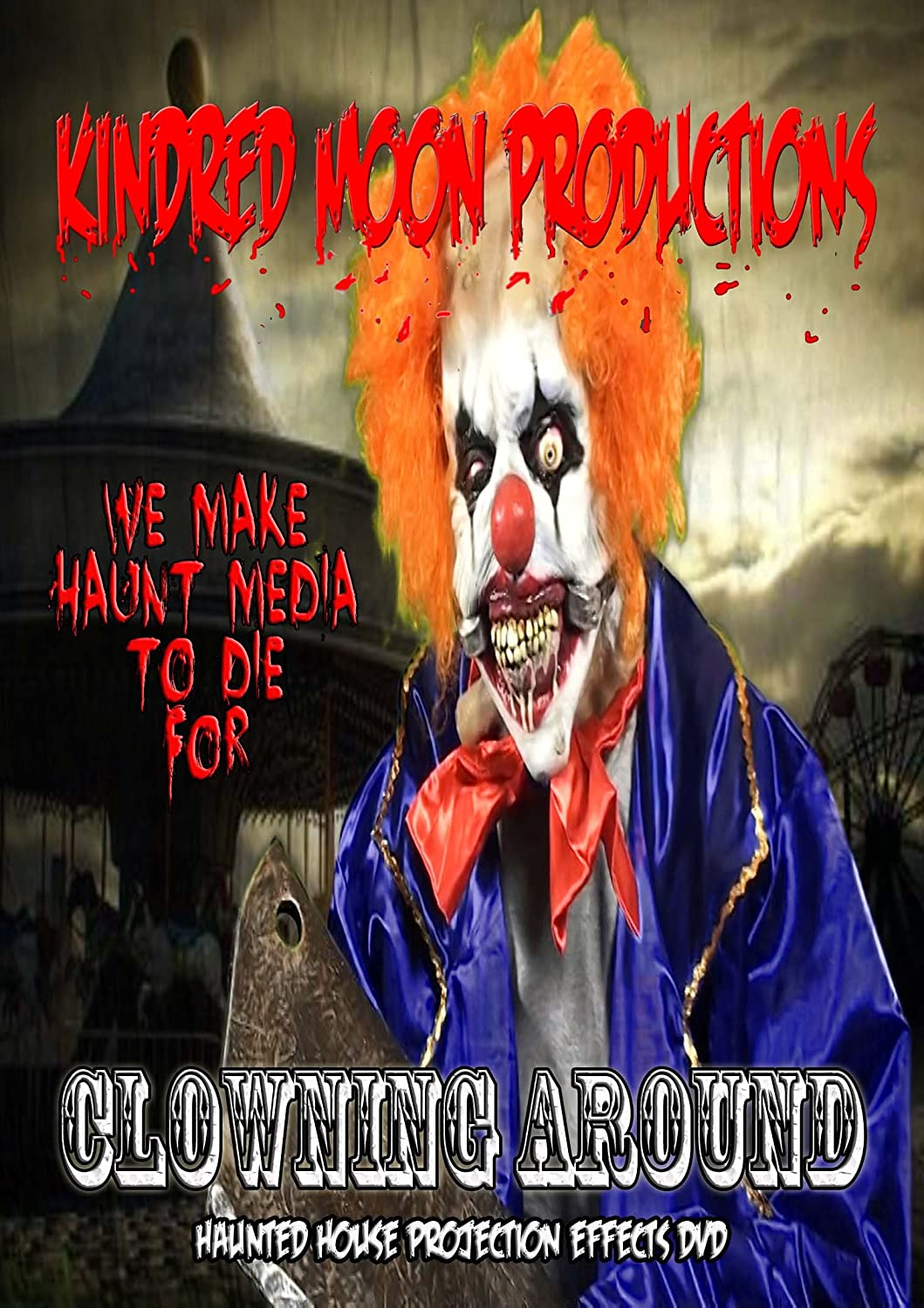 amazoncom clowning around halloween projection effects dvd michael mcdonald movies tv