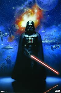 "Trends International Star Wars Vader Wall Poster 22.375"" x 34"""
