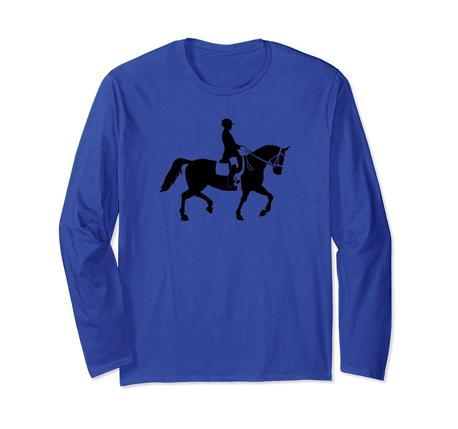 Horse dressage equestrian riding competition T-shirt-anz