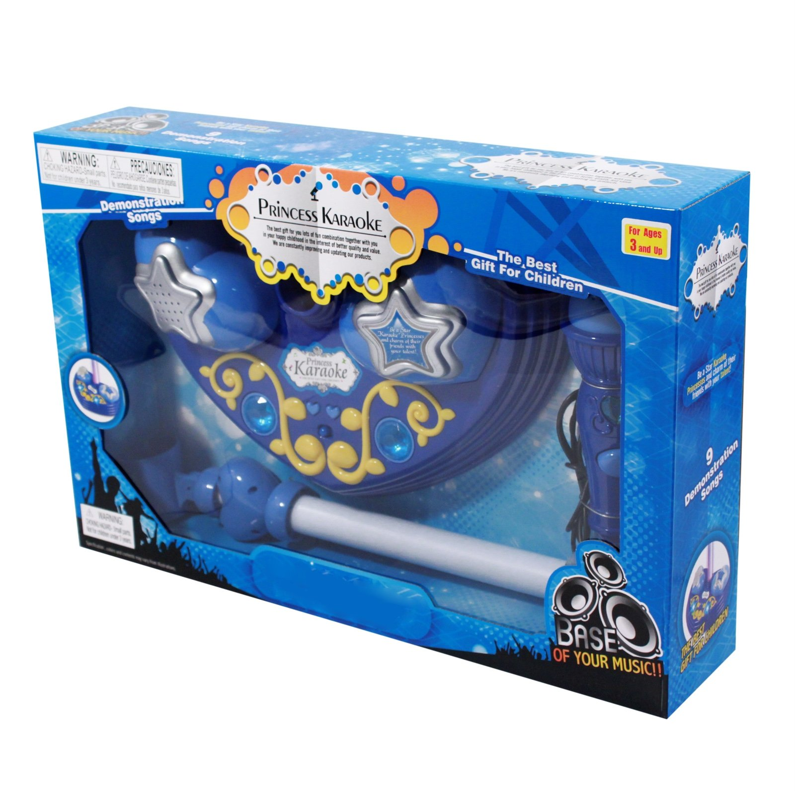 Super Star Kids Android iPhone MP3 Supported Microphone and Karaoke Stand - Blue by Kid Fun (Image #3)