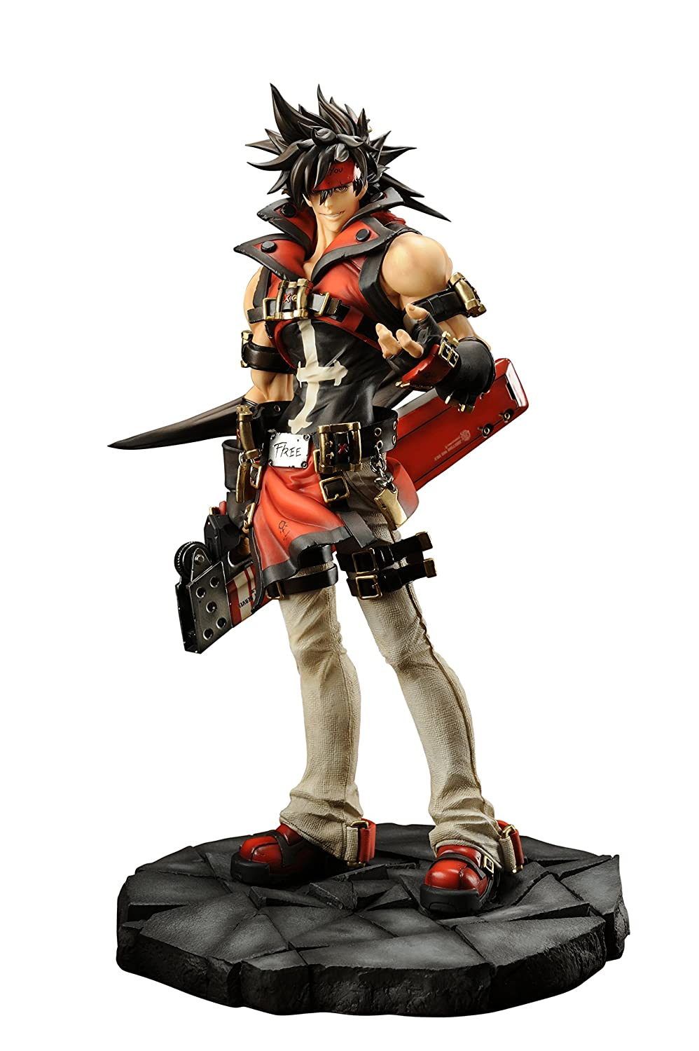 Embracejapan GUILTY GEAR Xrd -SIGN-: Sol Badguy PVC Figure (1:8 Scale)