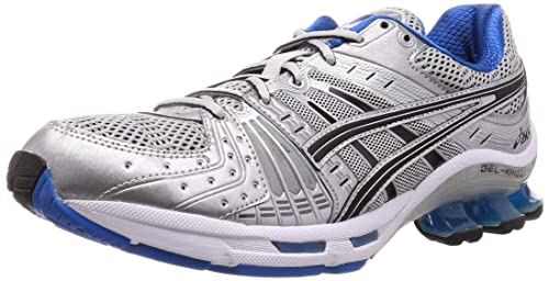 Buy ASICS Men's Glacier Grey/Black Running Shoes - 7 UK (41.5 EU ...