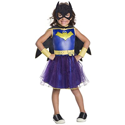 Rubie's Costume DC Comics Deluxe Batgirl Costume, X-Small, Multicolor: Toys & Games