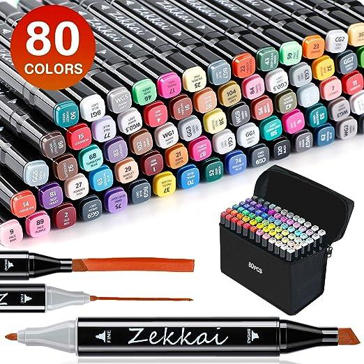 Zekkai Marker Pen Colores Rotuladores Graffiti 80 Colores ...