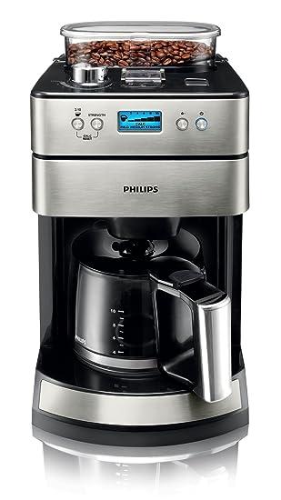 Kaffeemaschine mit mahlwerk und brühsystem