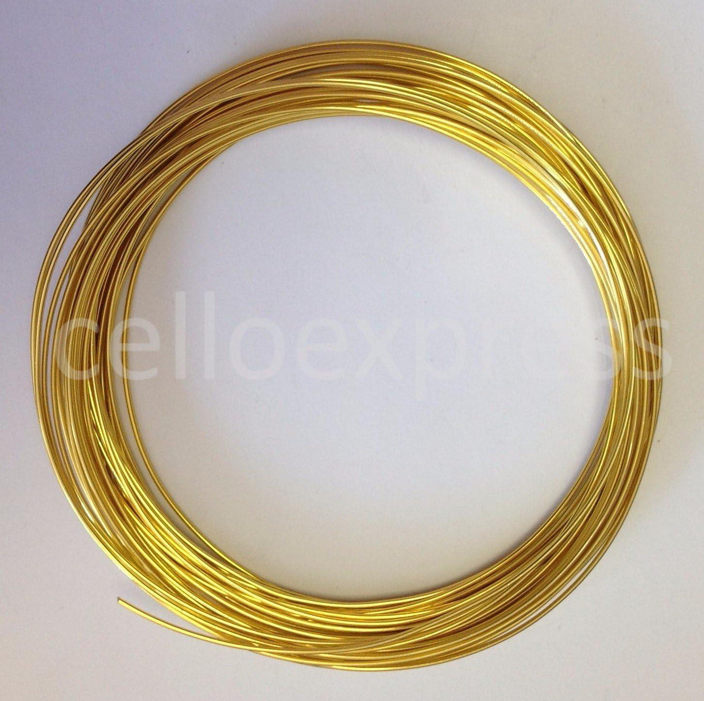 celloexpress Aluminium Craft Wire - GOLD Diameter x Length 1mm x 10m