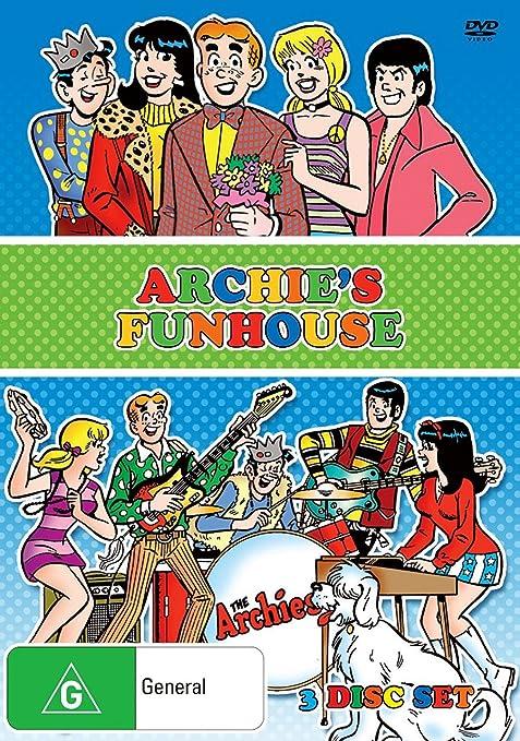 Archies Funhouse - 3-DVD Set Origen Australiano, Ningun ...