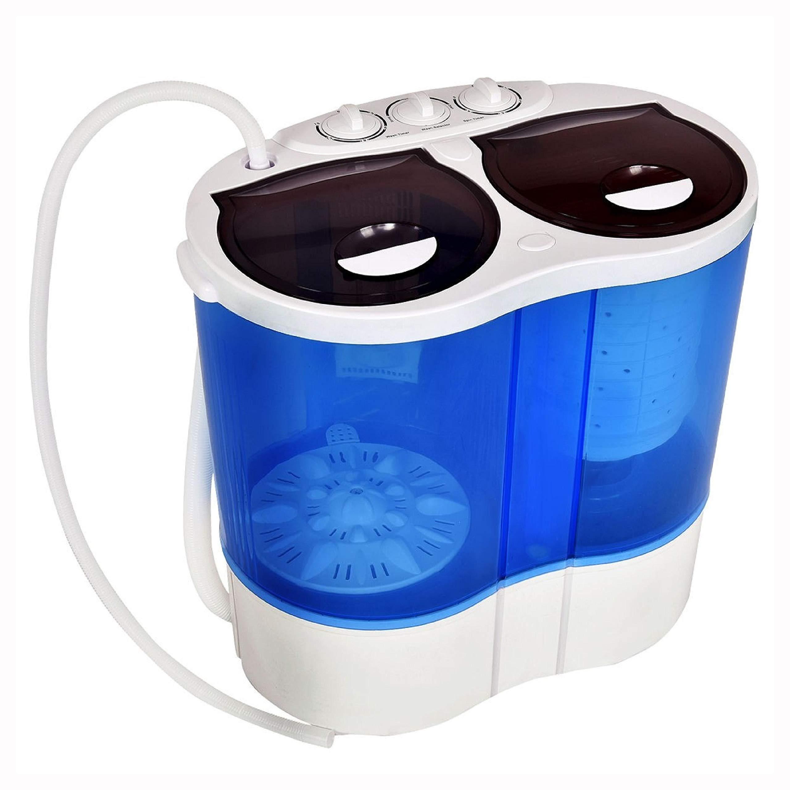 Washing Machine, 15 lbs Portable Compact Twin Tub Mini Washing Machine by HomyDelight (Image #8)