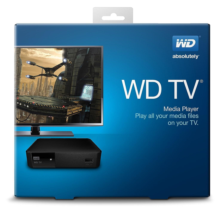 Amazon.com: WD TV Media Player (WDBYMN0000NBK-HESN): Electronics