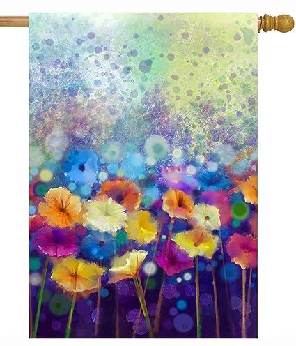 Amazon Com Shinesnow Watercolor Abstract Spring Seasonal