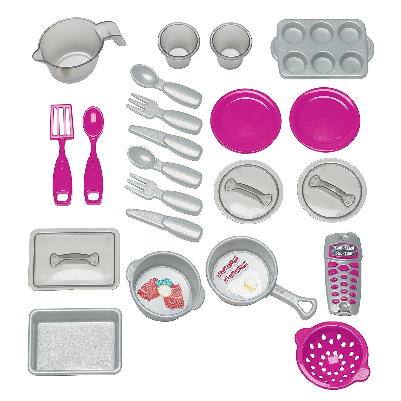 Amazon.com: American Plastic Toy Deluxe Custom Kitchen: Toys & Games