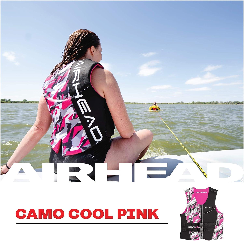 Airhead Womens CAMO COOL Kwik-Dry Neolite Flex Life Jacket