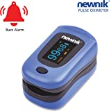 Newnik Fingertip Pulse Oximeter with Audio - PX701 (ROYAL BLUE)