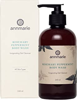 product image for Annmarie Skin Care Rosemary Peppermint Body Wash - Gel Body Cleanser with Rosemary, Peppermint Essential Oil, Lemon Balm + Aloe Vera (8 Fluid Ounces)