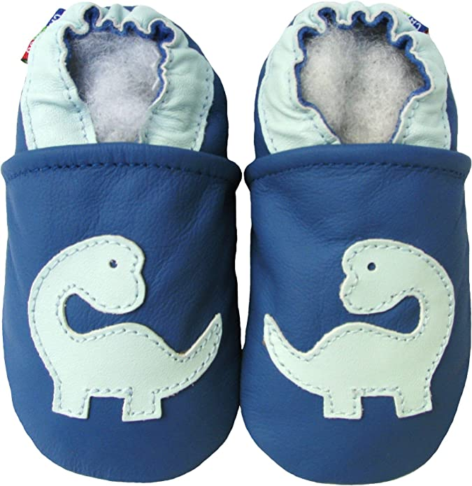 Carozoo Soft Sole Leather Baby Kid Indoor Shoes Prewalker 16 Designs