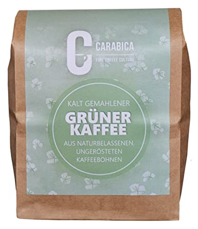 Grüner Kaffee Peru