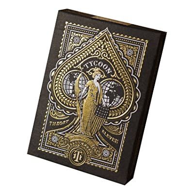 Tycoon Playing Cards (Black): Sports & Outdoors [5Bkhe0204941]