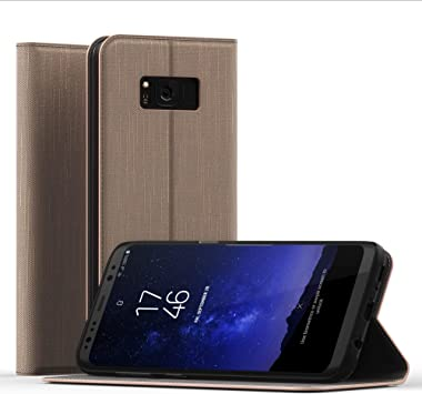 CELLONIC® Carcasa Compatible con Samsung Galaxy S8 (SM-G950) Cuero ...