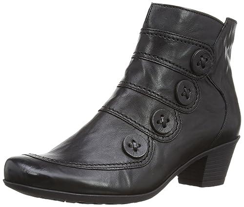Gabor Womens Georgie Boots 94.691.57 Black Leather 4 UK, 37 EU