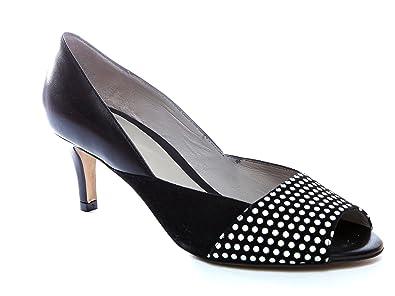 e6658ae0df15e0 Perlato Damen Pumps vorne offen Größe 37  Amazon.de  Schuhe ...