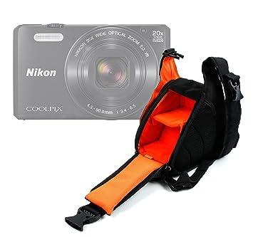 DURAGADGET Bolso Cruzado para Cámara Reflex Nikon S9900 | Coolpix ...