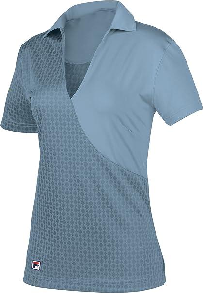Fila – Golf Camisa de Darlington Polo para Mujer, Mujer, Heritage ...