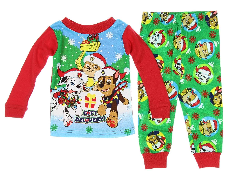 Amazon.com: Paw Patrol Christmas Holiday Toddler Pajamas: Clothing