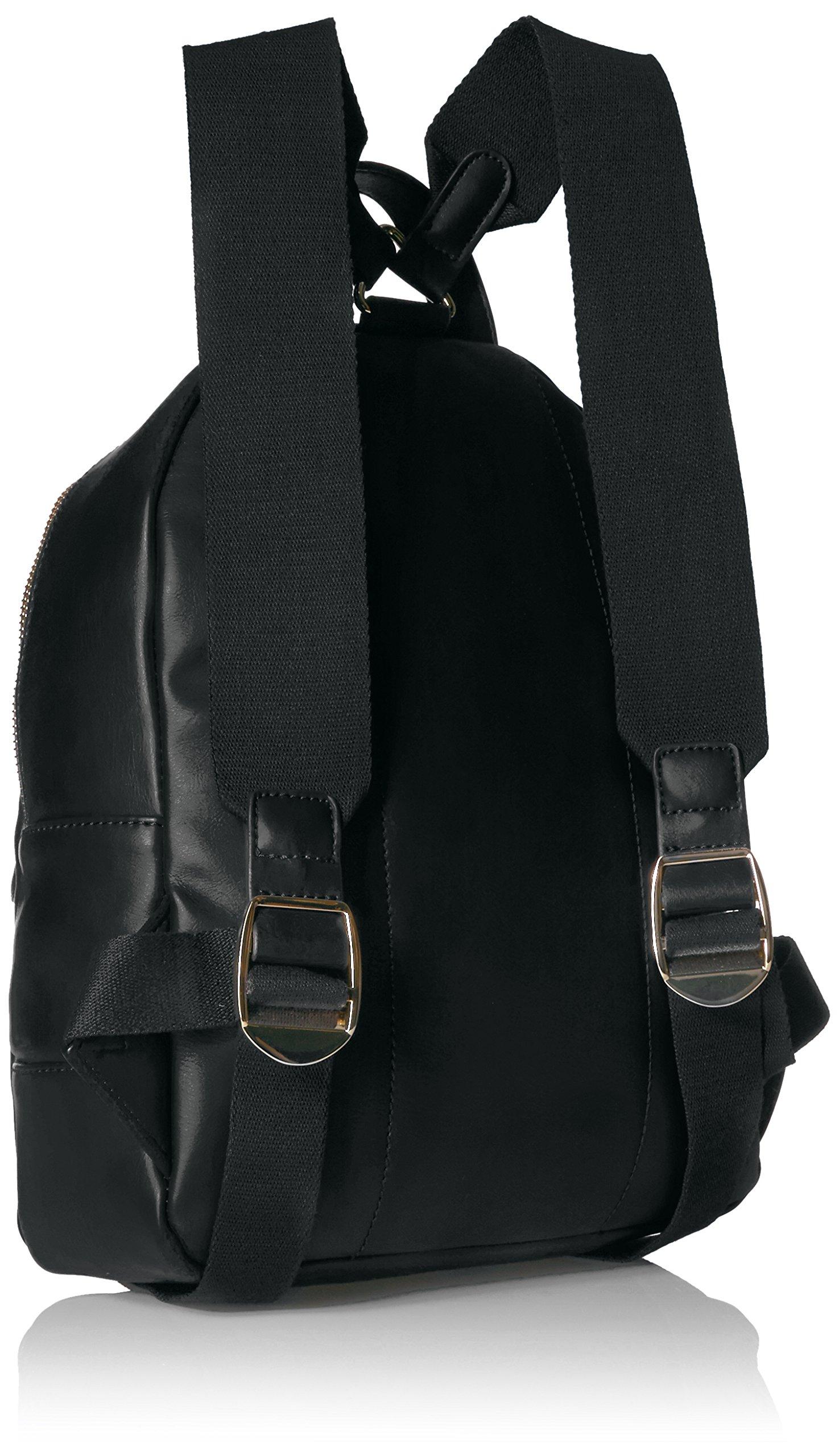 Tommy Hilfiger Backpack for Women Jaden, Black Polyvinyl Chloride by Tommy Hilfiger (Image #2)