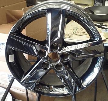 Amazon Com 17 Inch 2012 2014 Toyota Camry Alloy Black Chrome Wheels