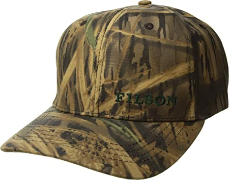 96a8d8fb99bd7f Amazon.com: Filson Unisex Logger Cap Shadow Grass One Size: Clothing