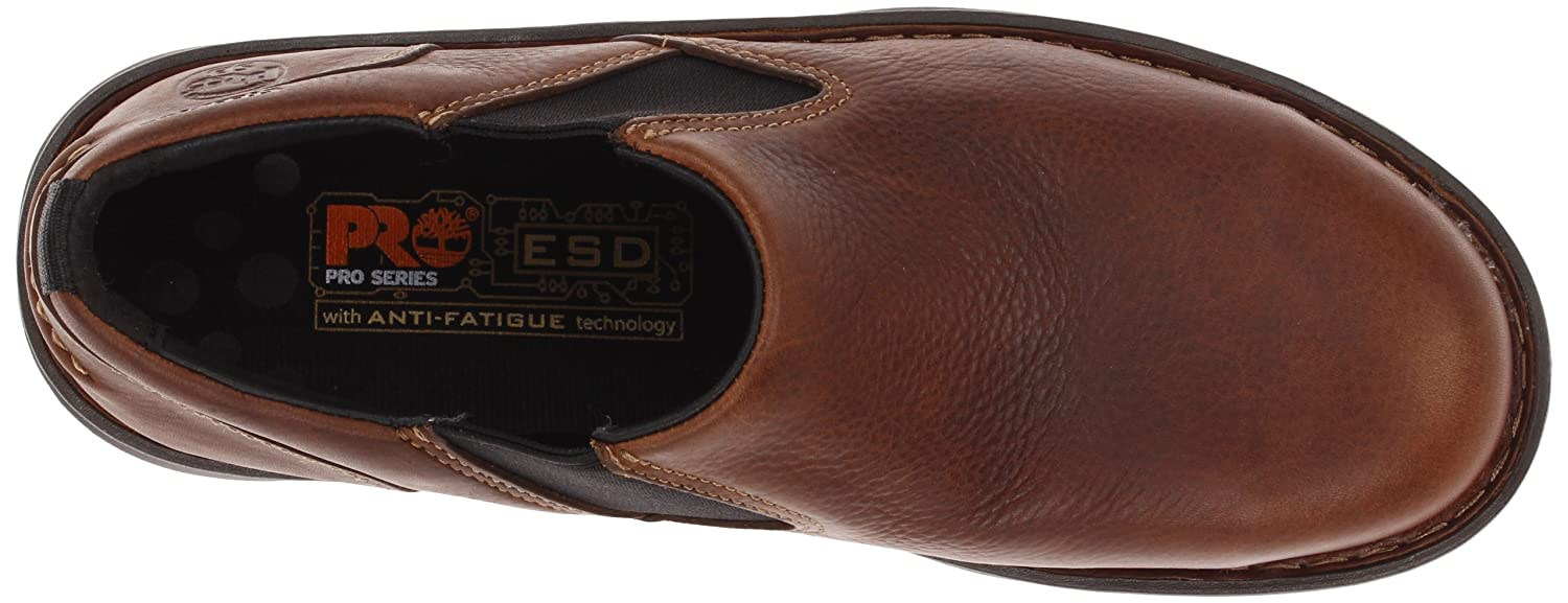 timberland pro slip on boots