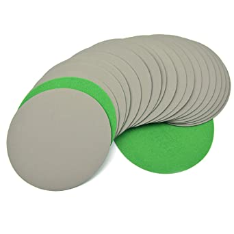 150mm Wet and Dry 15 Hole Sanding Discs 6/'/' Sandpaper Hook and Loop DA Pads