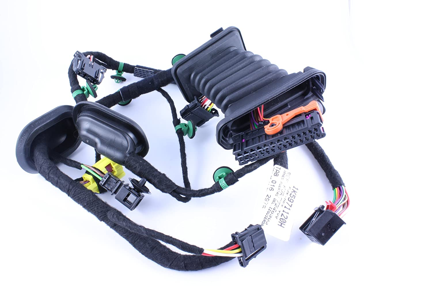 81nbhs5WbzL._SL1500_ amazon com genuine volkswagen drivers side door harness 1k5 971 mk5 jetta door wiring harness at suagrazia.org