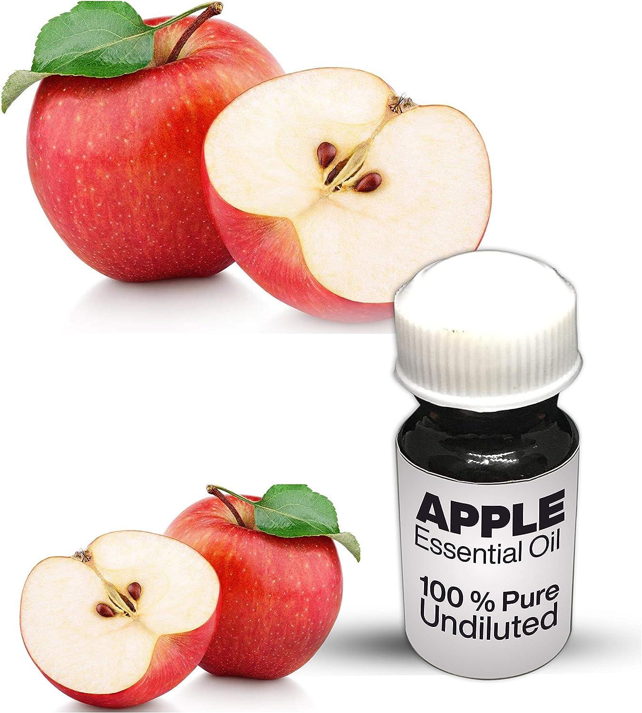 Apple Essential Oil / 100% Pure Apple Undiluted Essential Oil Premium Quality (10 ML)