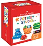 Faber Castell Do Art Pottery Studio Refill - 2 Pounds of Air-Dry Pottery Clay for Kids