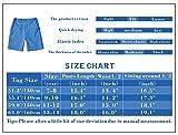 BASADINA Boys Shorts Quick Dry Outdoor Casual