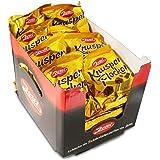 24er Sparpack Zetti Knusperflocken in feiner Vollmilchschokolade (24 x 140 g) knuspriges Knäckebrot Ostprodukt, Ostpaket