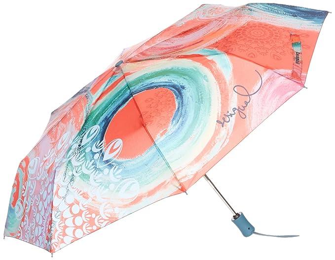 Desigual Umbrella Bondi Rojo Fresa