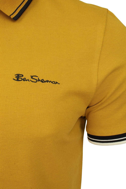 Ben Sherman Men's Signature Polo Shirt Dijon